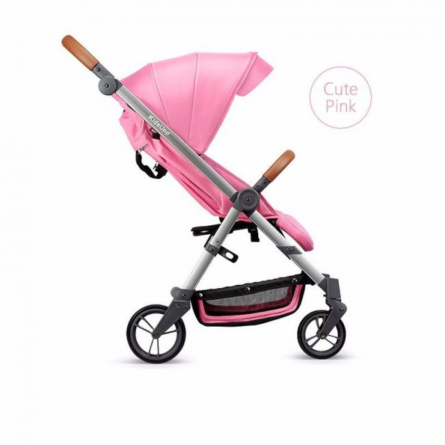 Baby Time KidsUpp Compact Stroller - Cute Pink
