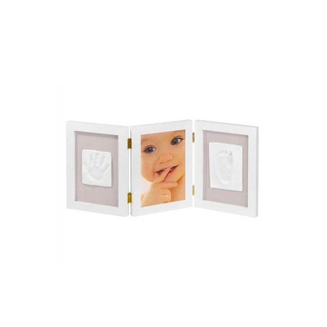Baby Art My Sweet Memories Photo Frame with 2 Prints - White
