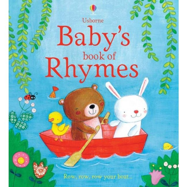 Usborne - Baby's Book Of Rhymes Activity Book