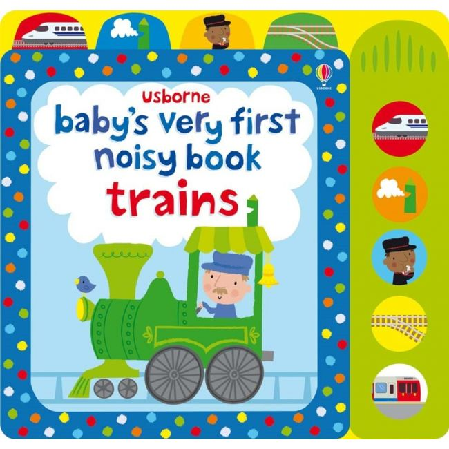 Baby's Very First Noisy Book Train Activity Book