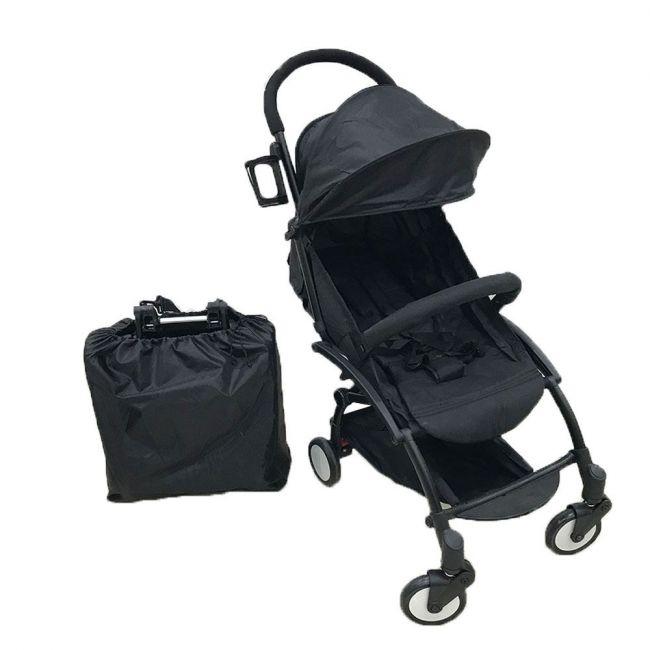 Babyland Travel Stroller Black