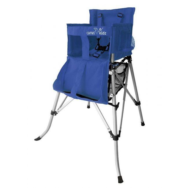 Camel Kidz - Travel High Chair - Strong Blue