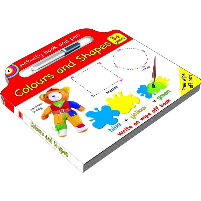 Colours And Shapes - Kids Book