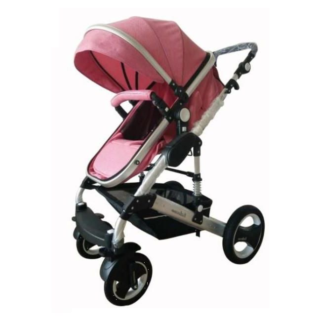 Cynebaby Anti Shock Stroller - Pink