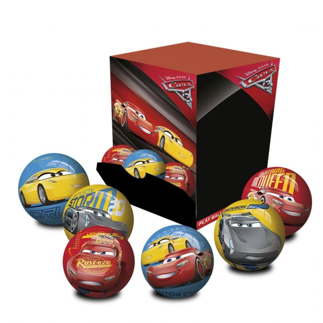 Disney Cars Assorted Ball 6 Cm (Inflated) In Display Box