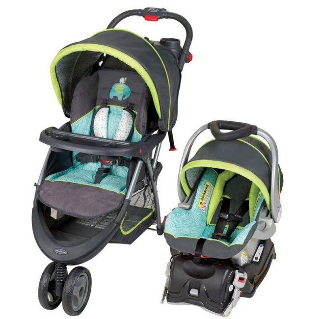Baby Trend EZ Ride5 Travel System - Woodland