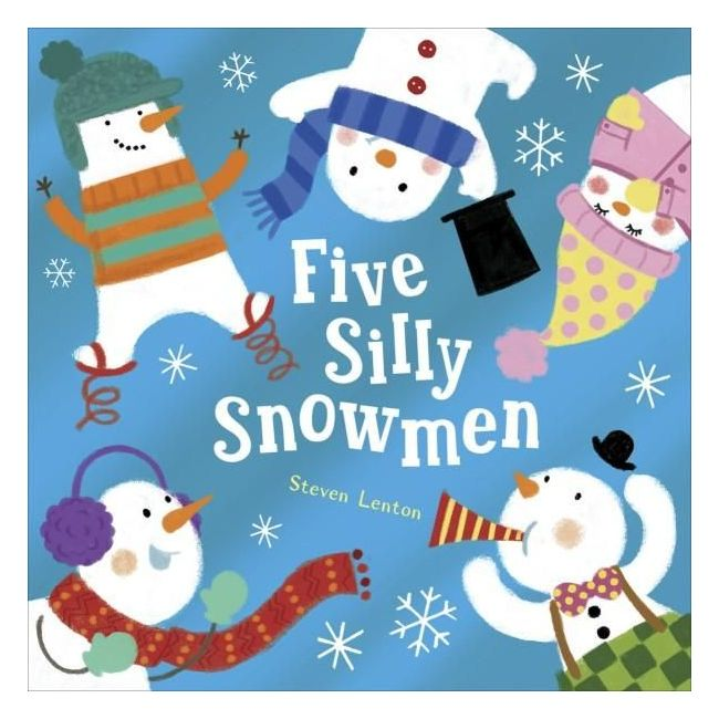 Five Silly Snowmen - Kids Book