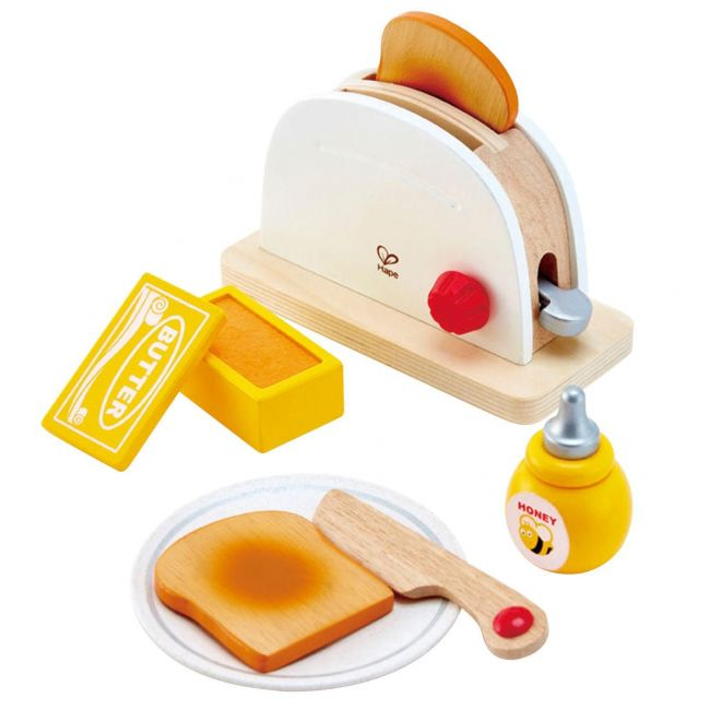 Hape Pop-Up Toaster Set - Role Play Toys
