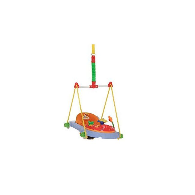 Disney Jump Deluxe Pooh Swing