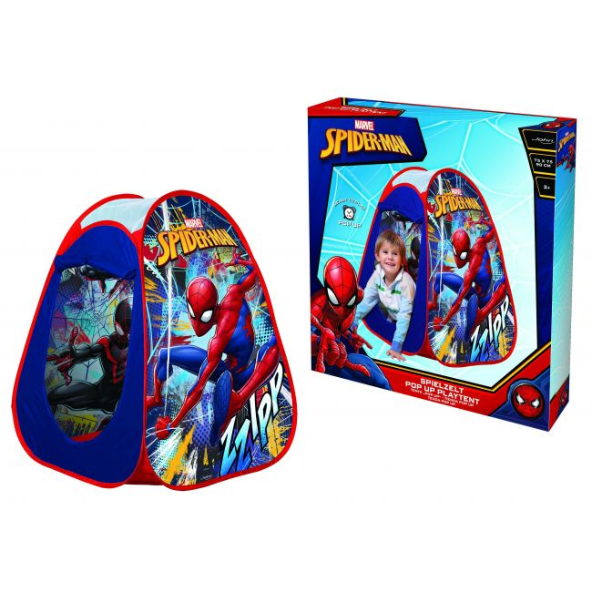 John Spiderman Pop Up Play Tent, In A Display Box