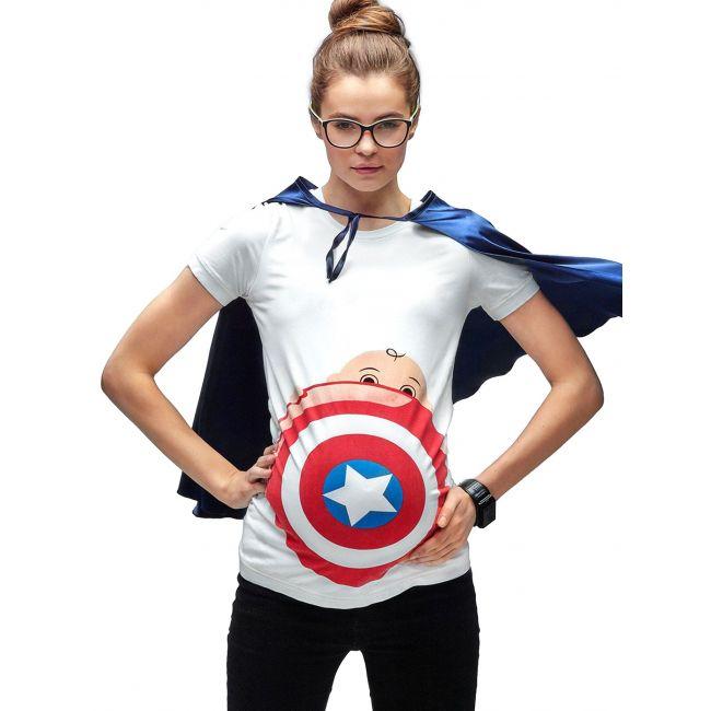 Mamagama My Superhero Maternity T shirt