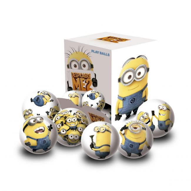 Minions - Assorted Ball - 6cm Inflated In Display Box