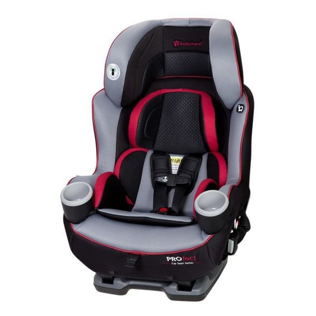 Baby Trend Black/Red PROtect Car Seat Series Elite Convertible Car Seat Apollo