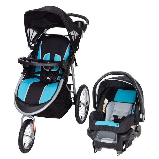 Baby Trend Pathway 35 Jogger Travel System - Optic Aqua