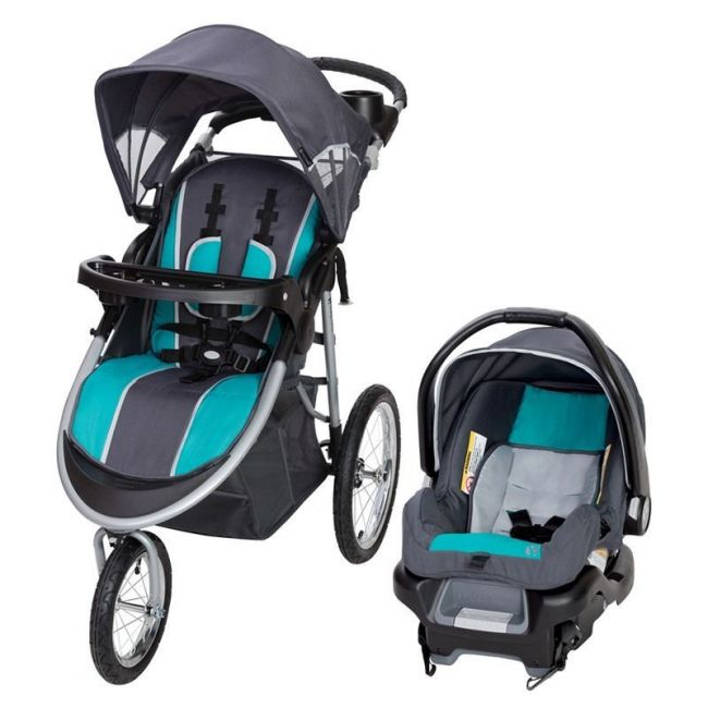 Baby Trend Pathway 35 Jogger Travel System - Optic Teal