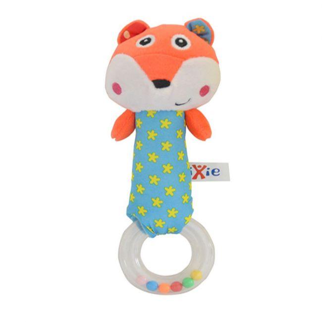Pixie Baby Fox Rattle Toy