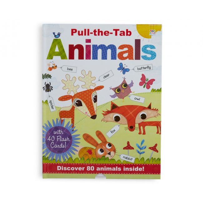 Pull The Tab Animals - Kids Book