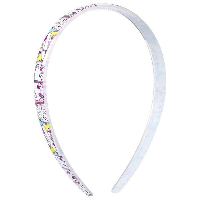 Shopkins Hair Band White