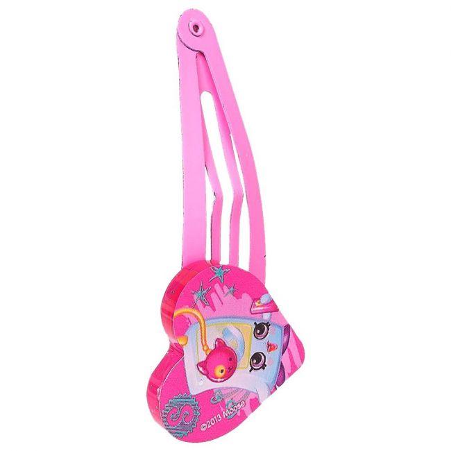 Shopkins 2pcs Pink1 Hair Clips