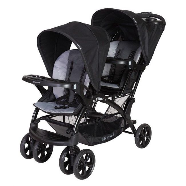 Baby Trend Sit N Stand Double Stroller - Moonstruck