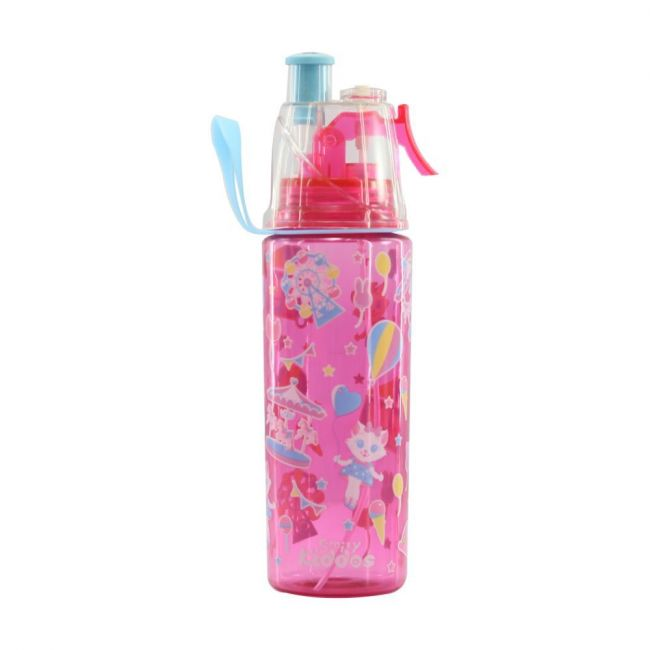 Smily Kiddos Pink Sports Drink Bottle