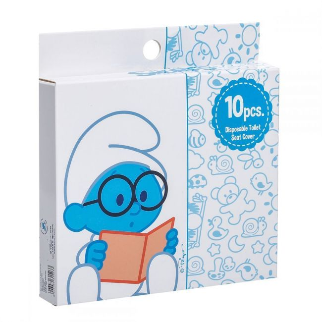 Smurf - Disposable Toilet Seat Covers -10 Pcs