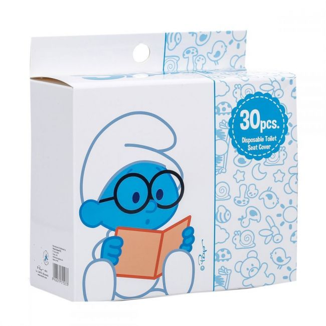 Smurfs 30 Box Disposable Toilet Seat Covers