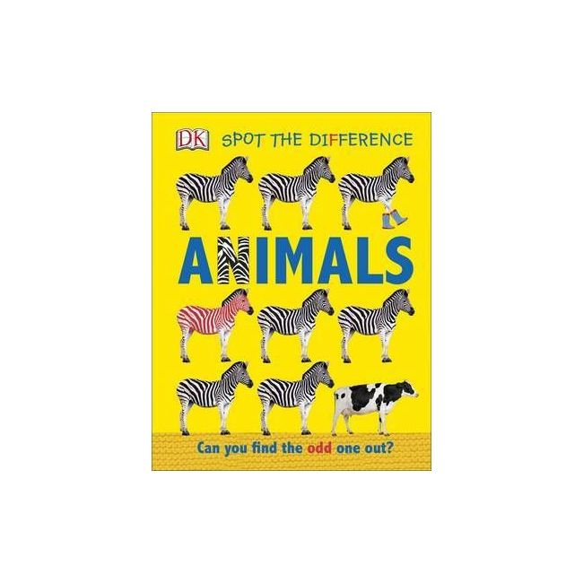 Spot The Difference Animals: Can You Find The Odd One Out? - Kids Book