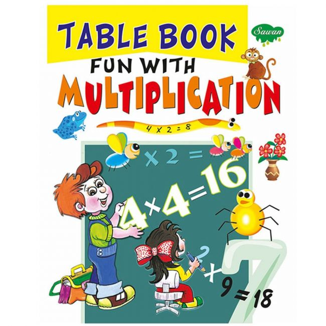 Sawan Table Book Fun With Multiplications - Children's Book