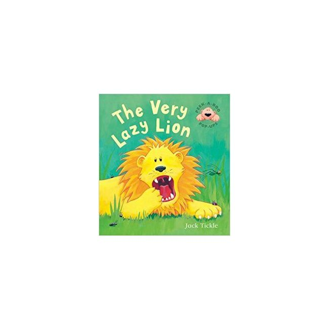 The Very Lazy Lion - Kids Book