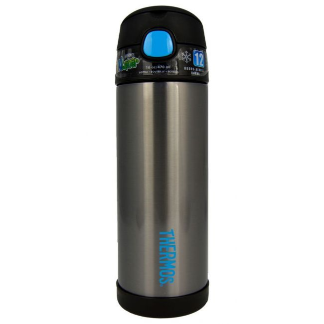 Thermos Funtainer Bottle Stinless Steel Hydration Bottle 470ml