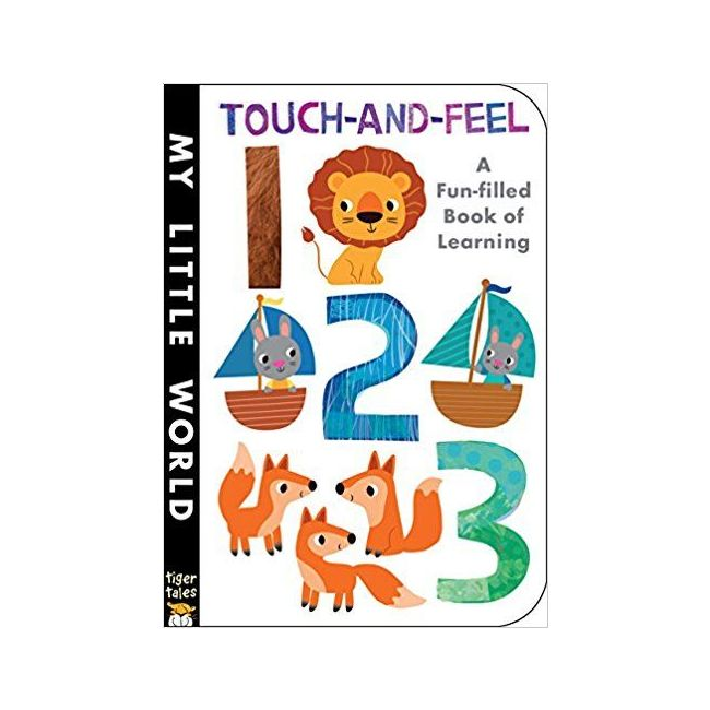 Touch And Feel 123 - Kids Book