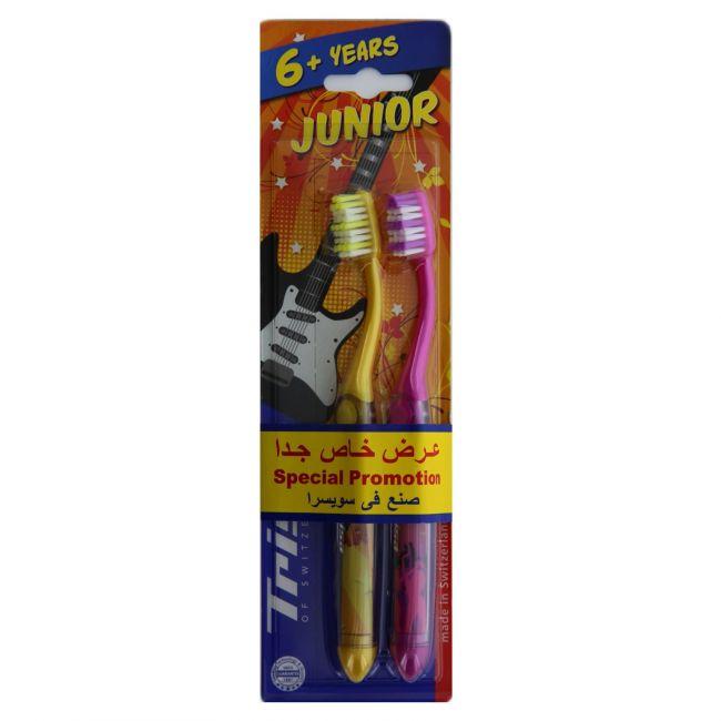 Trisa - Junior Toothbrush - 6+ Years