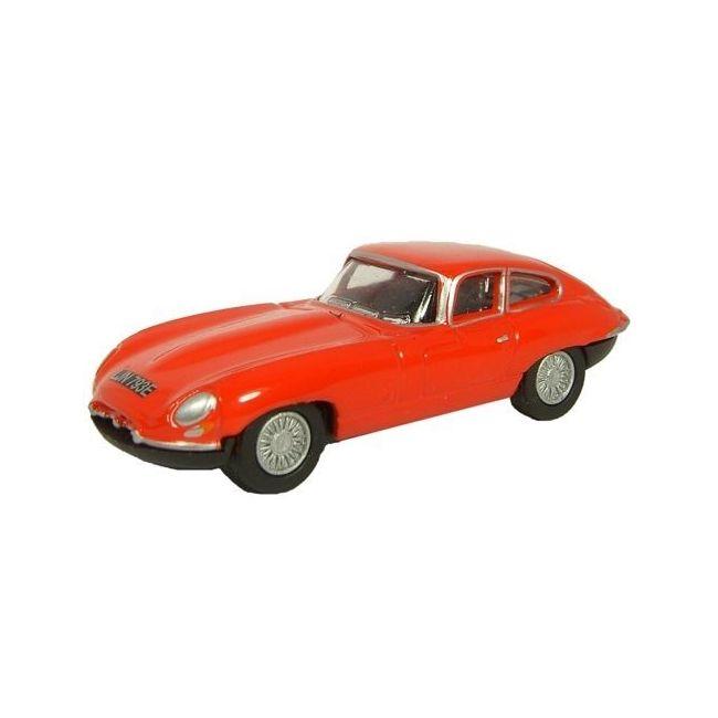 Oxford Diecast Jaguar E Type Carmen Red Toy Car