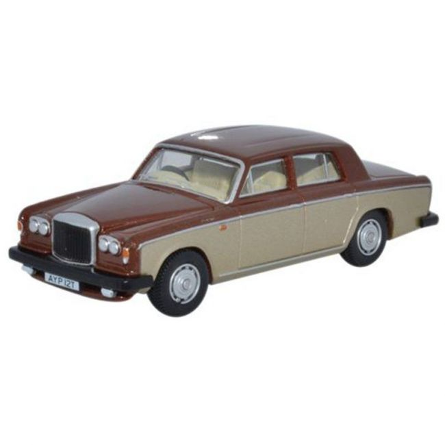 Oxford Diecast Bentley T2 Saloon Nutmeg Silver Sand Toy Car