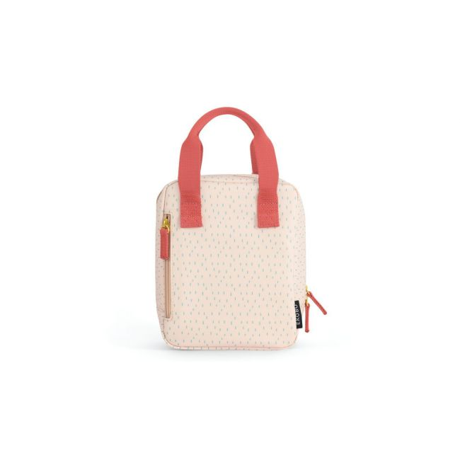 Ekobo - Go Isothermic RePet Lunch Bag Dashes Series Blush