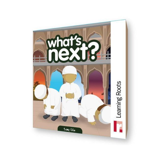 What's Next' By Learning Roots Book