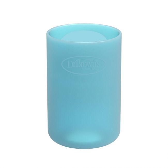 DrBrowns - 4 oz/120 ml Narrow Glass Bottle Sleeve - Blue
