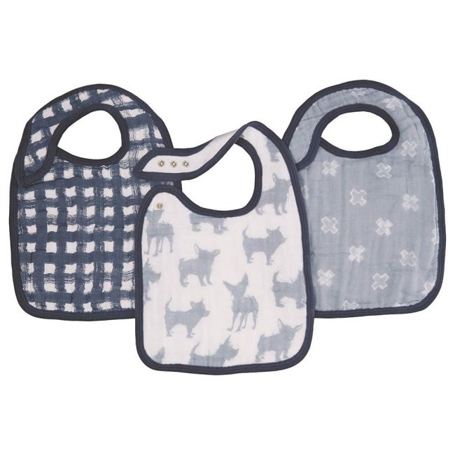 Aden + Anais - Classic 3 Pack Snap Bibs Waverly