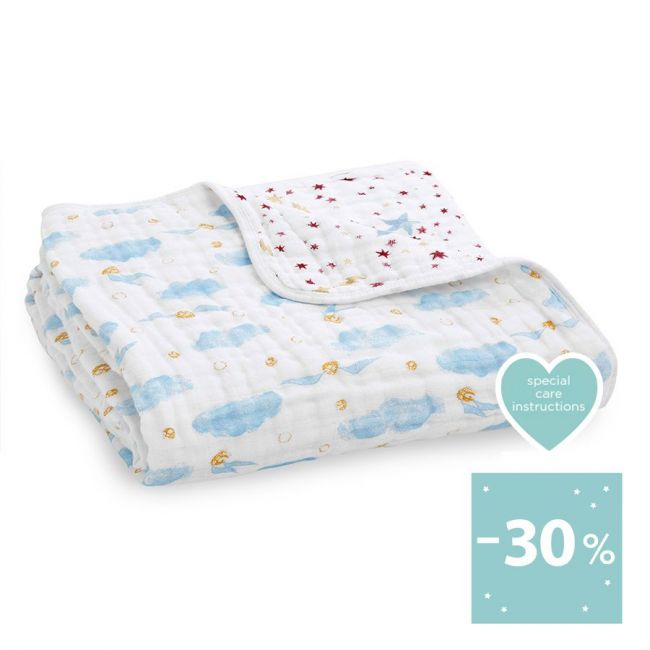 Aden + Anais - Classic Dream Blanket Harry Potter Snitch Dot