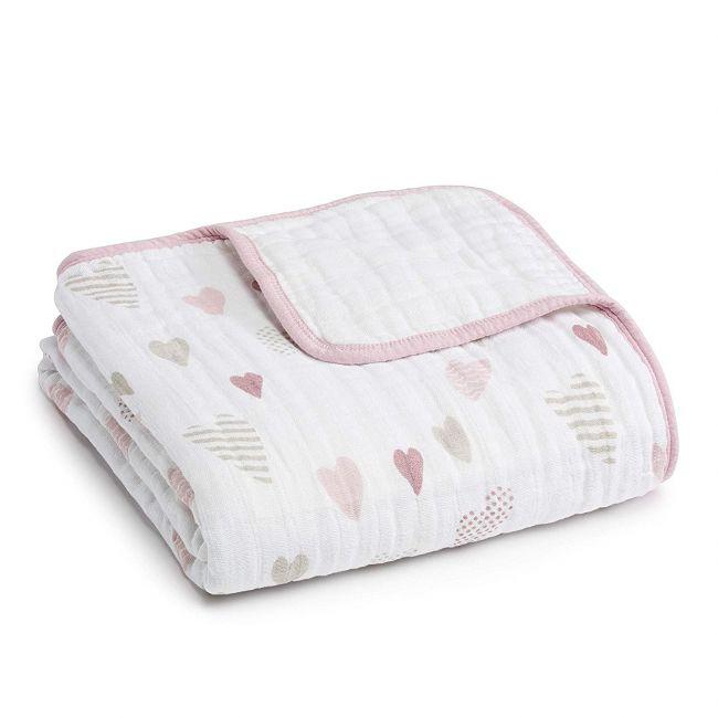 Aden + Anais - Classic Dream Blanket Heart Breaker