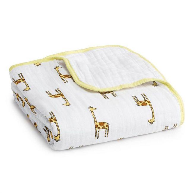 Aden + Anais - Classic Dream Blanket Jungle Jam Giraffe