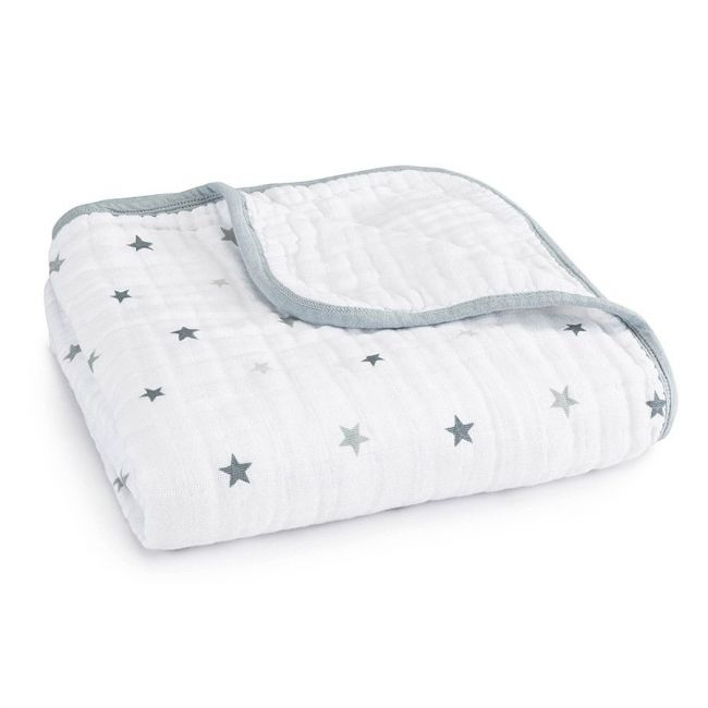 Aden + Anais - Classic Stroller Blanket Twinkle