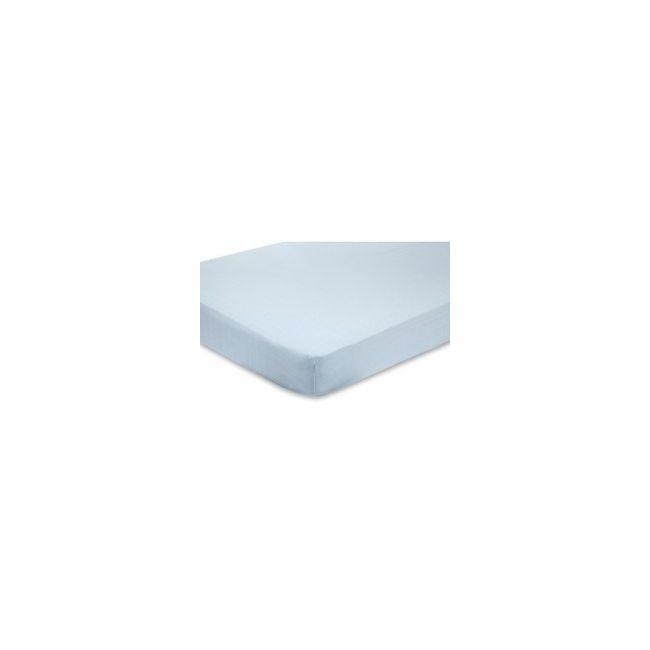 Aden + Anais - Crib Sheet Solid Blue