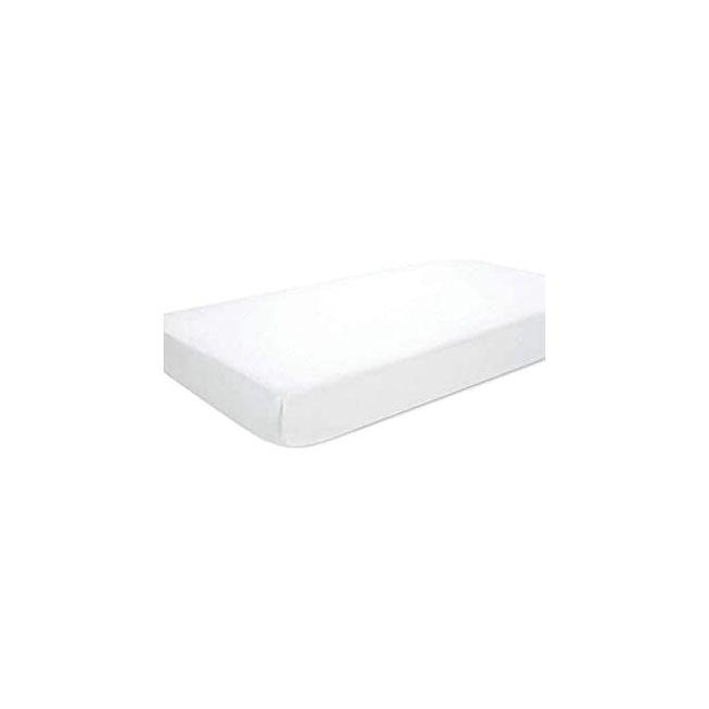 Essentials Crib Sheet White