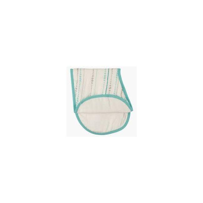 Aden + Anais - Silky Soft Burpy Bib Azure Bead