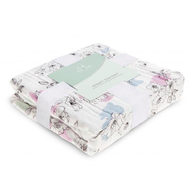 Aden + Anais - Silky Soft Dream Blanket Meadowlark