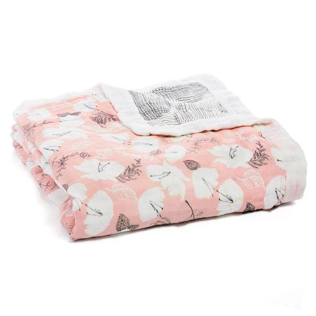 Aden + Anais - Silky Soft Dream Blanket Pretty Petals Soft Petals