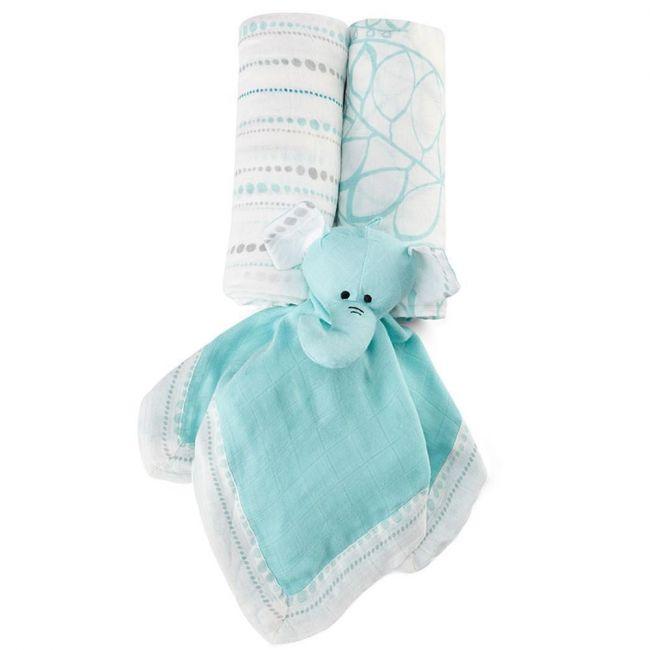 Aden + Anais - Silky Soft Gift Set Azure