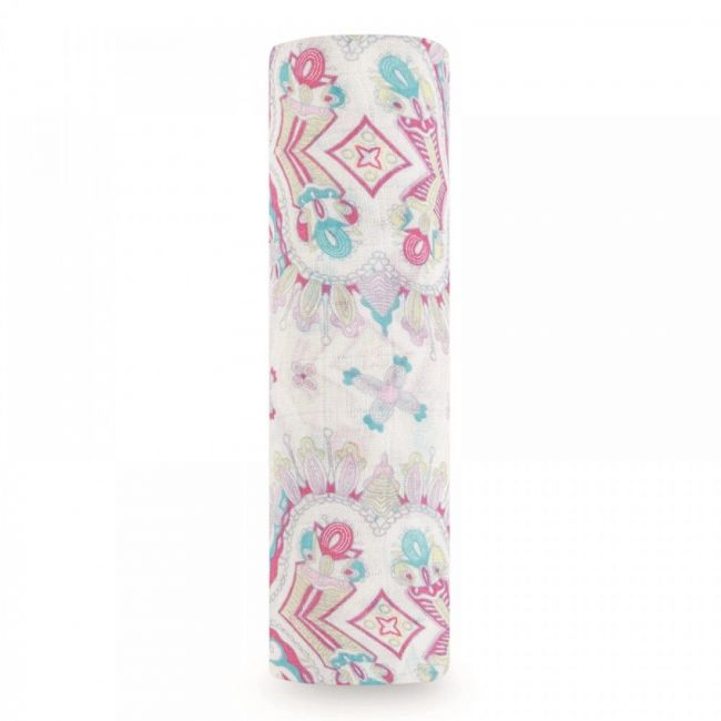 Aden + Anais - Silky Soft Single Swaddle Flower Child